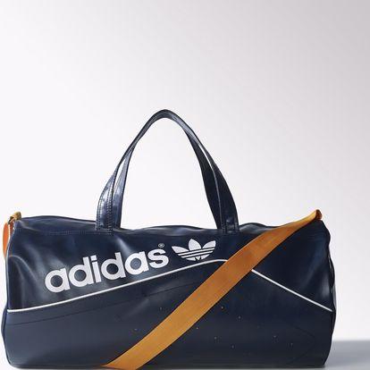 Praktická a stylová taška přes rameno adidas originals perforated duffel