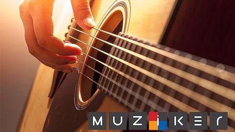 Akustická kytara od Muziker - nová parťačka na letní festivaly