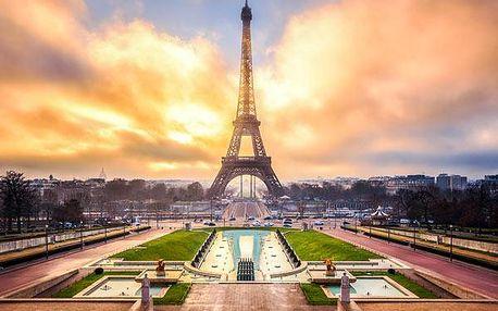 Letní Paříž-4denní zájezd s dopravou a ubytováním