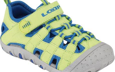 Chlapecké sandály JAYA - zeleno-modré