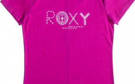 Dámské designové tričko Roxy Basic Crew G Berry Heather