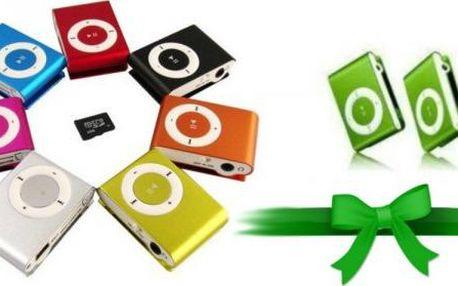 Mini MP3 přehrávač s klipem!