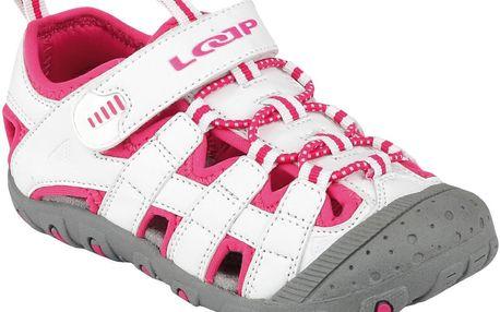 Dívčí sandály JAYA - růžovo-bílé