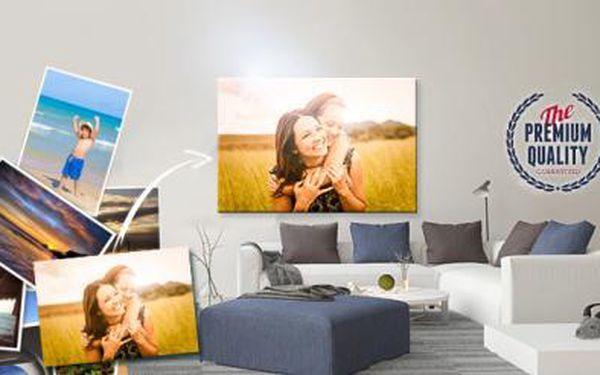 Kvalitní fotoobraz z vašich fotografií! Fotoplátno na rámu z masivního dřeva s možností osobního odběru v Praze!