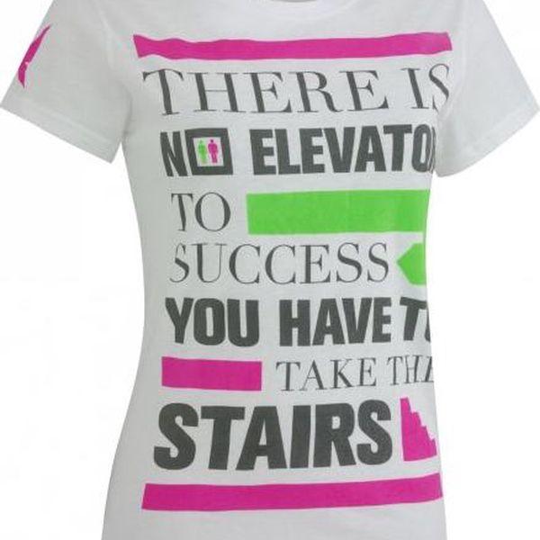 Dámské designové tričko pro volnočasové aktivity Kari Traa Attitude Tee White