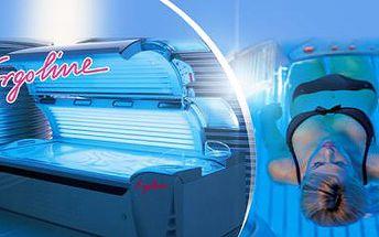 ROČNÍ PERMANENTKA na 50 či 100 min. opalování do solária Ergoline! Připravte svou pokožku na léto již nyní!