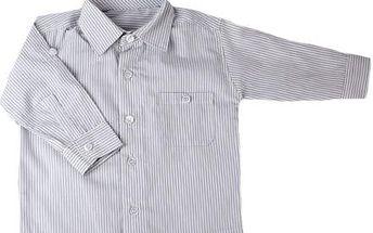 Proužkovaná košile nyní v jedinečné akci za skvělou cenu