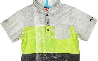Dětské tričko s kapucí - barevné