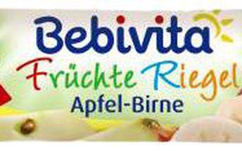 BEBIVITA Ovocná tyčinka Jablko a Hruška 25g