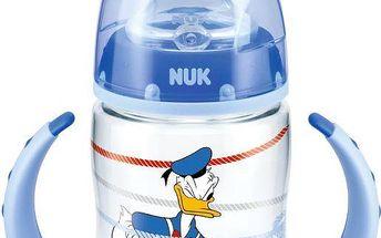 Modrá FC lahvička na učení PP DISNEY Donald 150ml, SI pítko