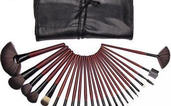 Praktický set 24 ks profesionálních štětců pro Make Up!