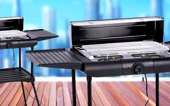 Elektrický gril: Dopřejte si skvělé barbecue i ve městě!