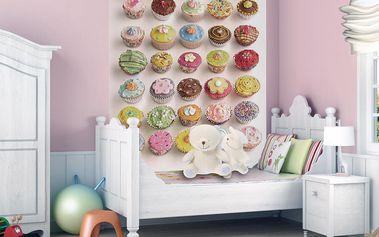Tapeta Muffiny 158x232 cm