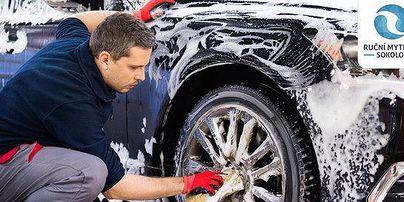 Ruční mytí aut Sokolov
