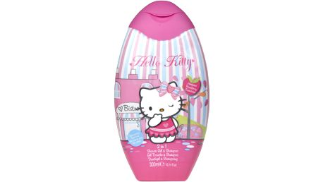 HELLO KITTY Šampón & sprchový gel 300 ml