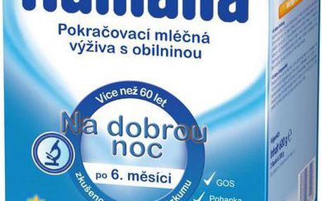 HUMANA mléko na dobrou noc s prebiotiky 600g