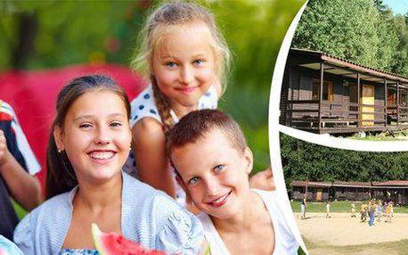 Týdenní letní tábor ve stylu pevnosti Boyard