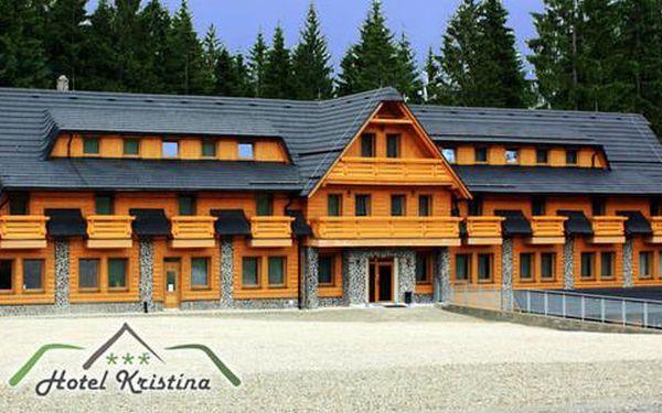 Aktivní dovolená s dětmi v oravském hotelu Kristína***