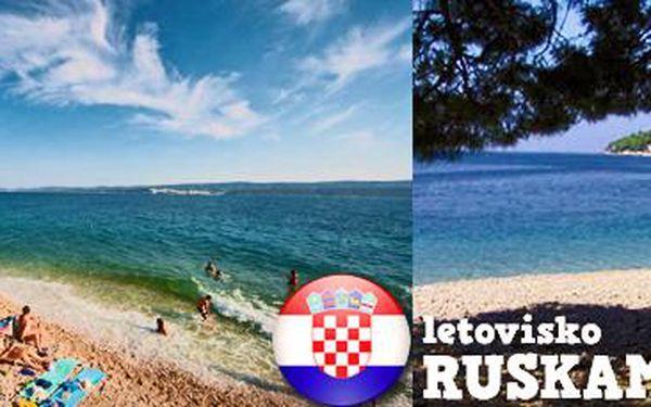 Chorvatsko: Týdenní pobyty v chatkách. Výběr ze 16 termínů!