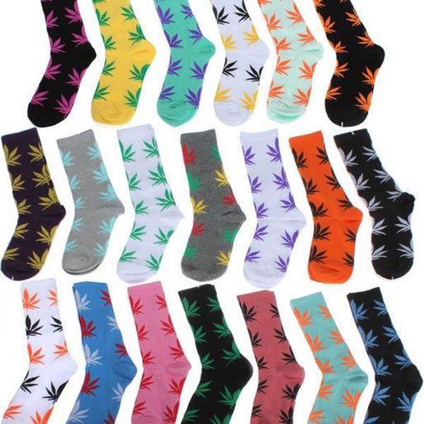 Šílené ponožky Marihuana Socks!