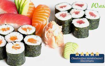 Sushi v restauraci Wasabi Sushi