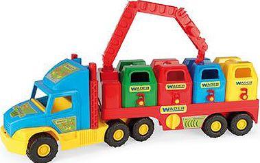 Auto Super Truck popeláři plast 75 cm