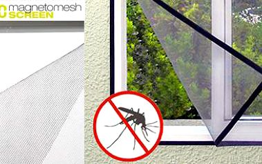 Magnetická síť do oken – 4 ks: hmyz nemá šanci!