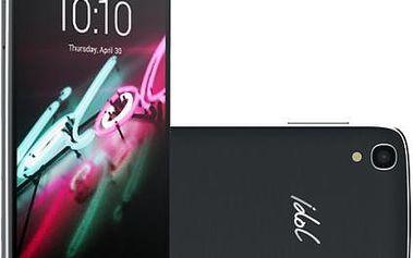 Mobilní telefon ALCATEL ONETOUCH IDOL 3 (4.7) 6039Y šedý