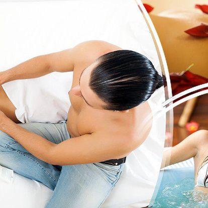 60 min. tantra masáže a 60 min. relax ve výřivce pro muže, ženy i páry v krásném salonu Bene!!