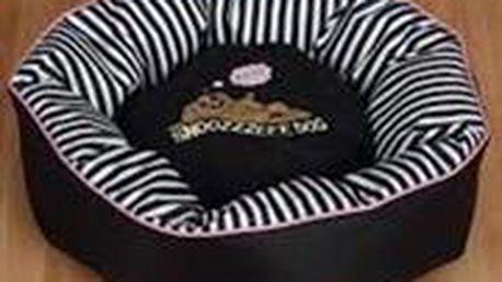 Pelech Snoozzzeee Candy Stripe donut 51 cm růžový