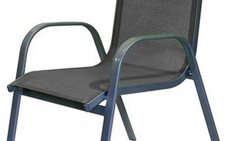 Zahradní židle antracitová