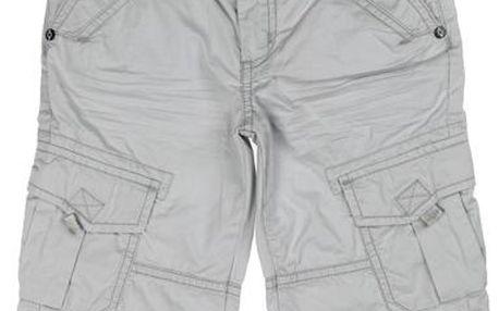 Chlapecké šortky - světle šedé