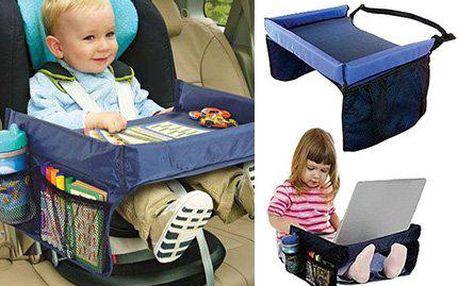 Praktický dětský stoleček do auta