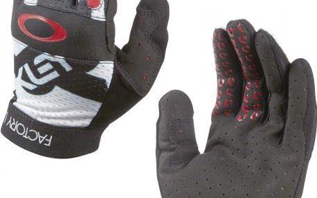 Cyklistické dlouhoprsté rukavice Oakley Factory Lite Glove Black L