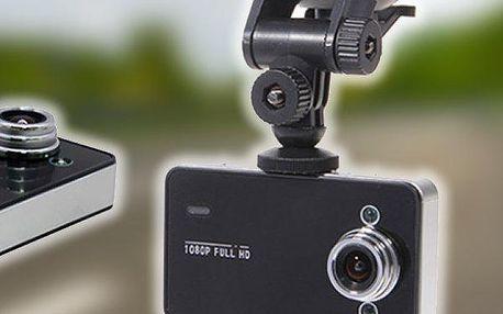 Full HD mini kamera do auta s nočním viděním. Zajistěte si důkazy v případě nehody!!
