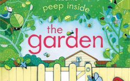 Anglická kniha pro děti Peep inside the garden