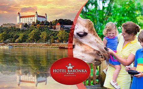 Letní dovolená s rodinou v apartmánu hotelu Barónka**** s poutavými aktivitami