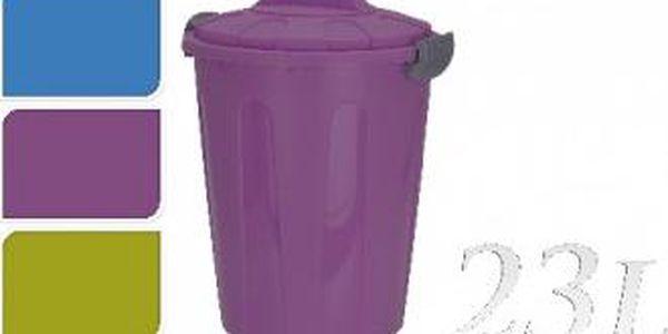 Koš plastový 23 l, 45 cm modrá KAISERHOFF KO-890264modr
