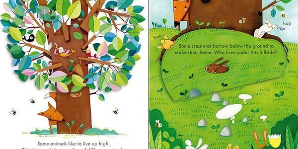 Velmi jednoduchá knížka Peep inside animal homes