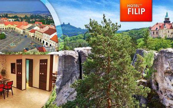 Úžasný relax v Českém ráji s polopenzí