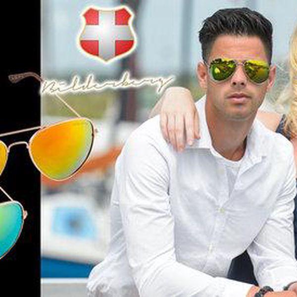 Troje sluneční brýle Aviator od Bilderberg