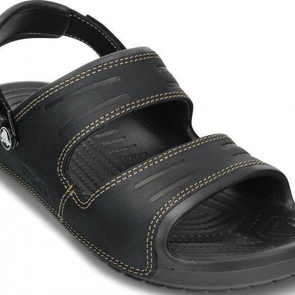 Pánské sandály Crocs Yukon 2 Blk/Blk