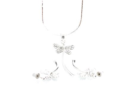 Set Laura Bruni se Swarovski Elements Dragonfly Crystal