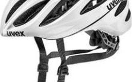 Cyklistická přilba UVEX Boss Race white 55-60 cm