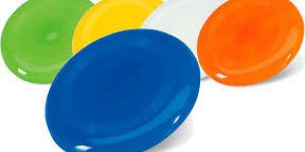 Barevné frisbee!