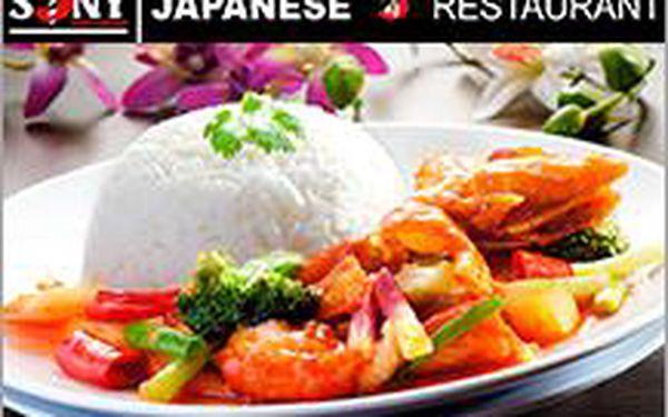Thajské menu pro 2