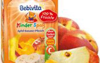 BEBIVITA Jablko, banán, broskev 90g