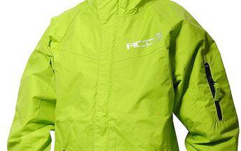 Dětská zelená nepromokavá bunda