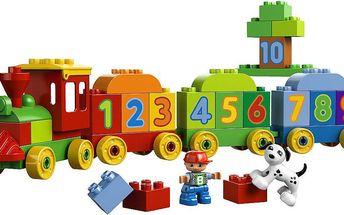 DUPLO Toddler Vláček plný čísel
