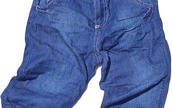 Dívčí 3/4 kalhoty, modré